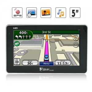 APK Processor 5 Inch HD Touchscreen GPS Navigation and Multimedia Unit